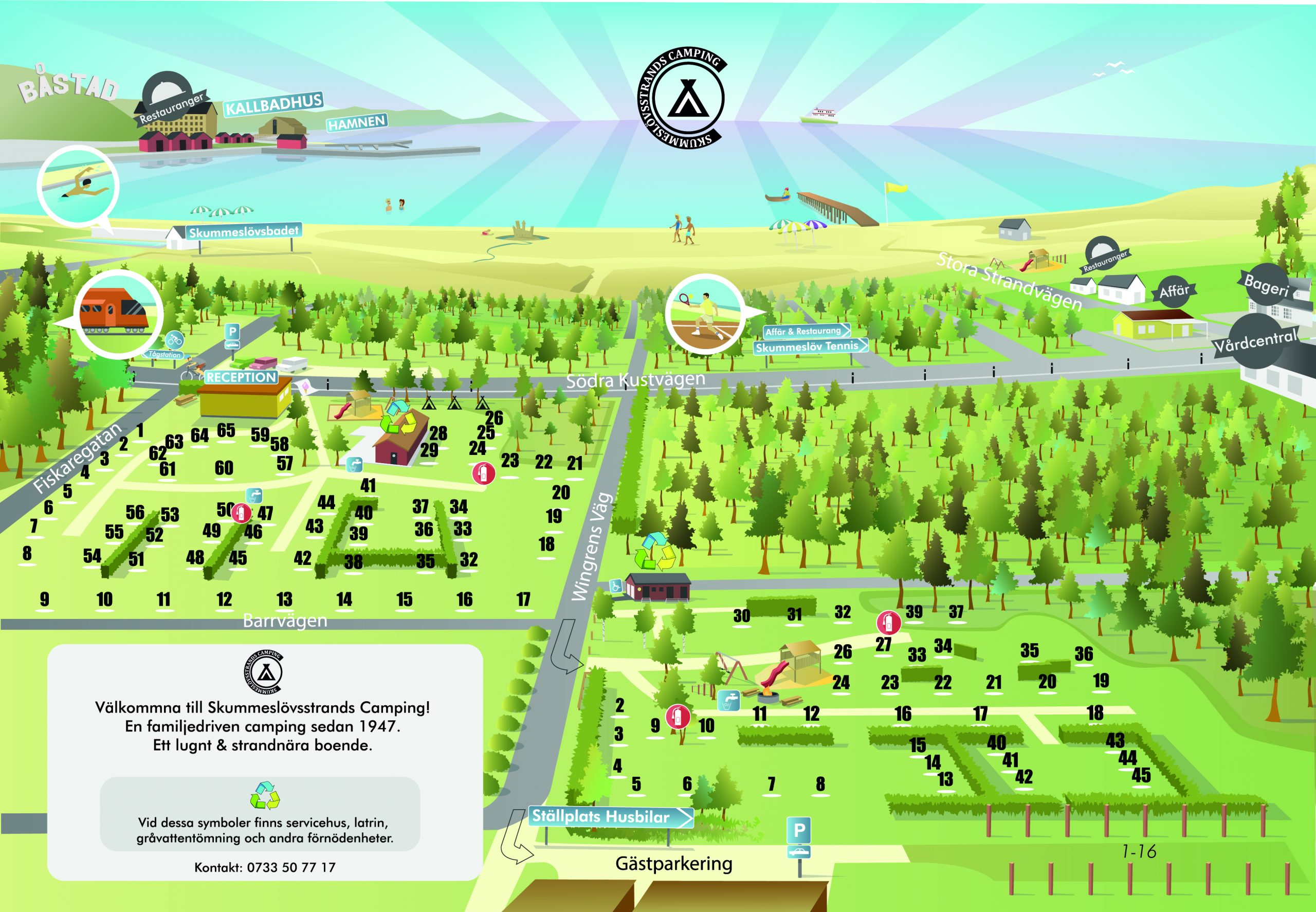 Campingkarta
